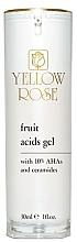 Parfumuri și produse cosmetice Gel cu acid de fructe pentru față - Yellow Rose Fruit Acids Gel