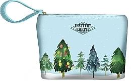 Духи, Парфюмерия, косметика Trusă cosmetică - Institut Karite Paris Christmas Tree Small Pouch