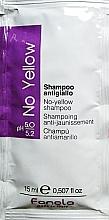 Духи, Парфюмерия, косметика Șampon pentru neutralizarea tonului galben - Fanola No-Yellow Shampoo (mostră)