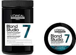 Parfumuri și produse cosmetice Pudră decolorantă pentru păr - L'Oreal Professionnel Blond Studio Multi-Functional Powder