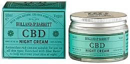 Parfumuri și produse cosmetice Cremă de noapte pentru față - Holland & Barrett CBD Night Cream