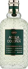 Parfumuri și produse cosmetice Maurer & Wirtz 4711 Acqua Colonia Blood Orange & Basil - Apă de colonie