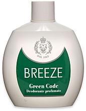 Parfumuri și produse cosmetice Breeze Green Code Deo Squeeze - Deodorant parfumat
