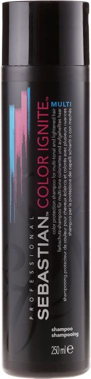 Șampon pentru protecția culorii părului - Sebastian Professional Found Color Ignite Multi Shampoo — Imagine N1
