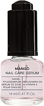 "Parfumuri și produse cosmetice Ser pentru unghii ""Mango"" - Alessandro International Mango Nail Care Serum"