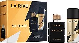 Духи, Парфюмерия, косметика La Rive Mr. Sharp - Set (edt/100ml + deo/150ml)
