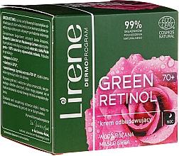 Parfumuri și produse cosmetice Cremă revitalizantă de noapte pentru față - Lirene Green Retinol Rebuilding Night Cream