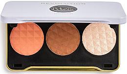 Духи, Парфюмерия, косметика Палетка для контуринга - Makeup Revolution Patricia Bright Face Palette