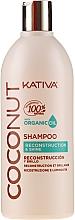 Parfumuri și produse cosmetice Şampon regenerant pentru păr - Kativa Coconut Shampoo