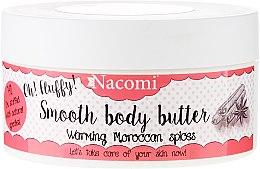 "Parfumuri și produse cosmetice Ulei de corp ""Condimente marocane calde"" - Nacomi Smooth Body Butter Warming Moroccan Spices"
