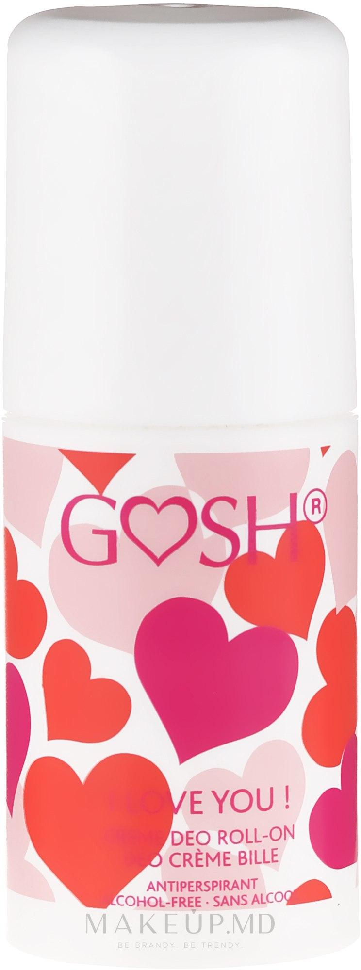 Deodorant roll-on - Gosh I Love You Deo Roll-On — Imagine 75 ml