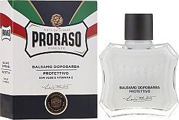 Parfumuri și produse cosmetice Balsam cu aloe și Vitamina E după ras - Proraso Blue Line After Shave Balm Super Formula