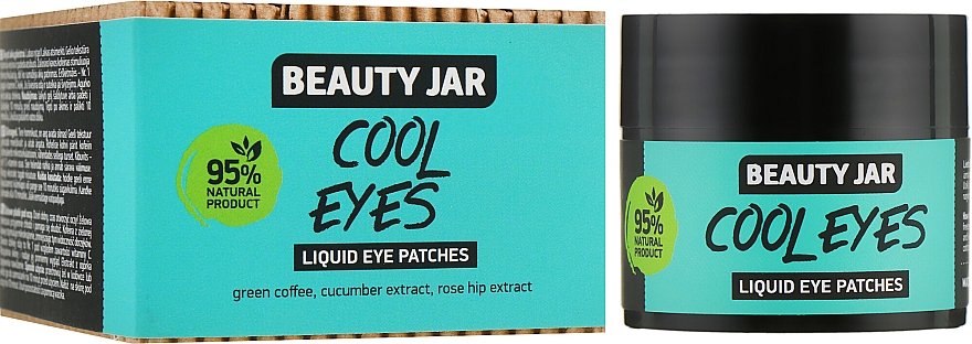 "Patch-uri lichide sub ochi ""Cool Eyes"" - Beauty Jar Liquid Eye Patches"