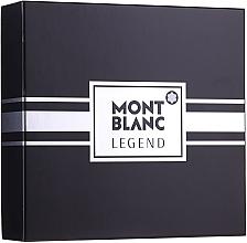 Parfumuri și produse cosmetice Montblanc Legend - Set (edt/100ml+ash/balm/100ml+edt/mini/7.5ml)