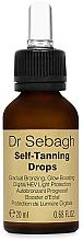 Духи, Парфюмерия, косметика Капли для автозагара - Dr Sebagh Self-Tanning Drops
