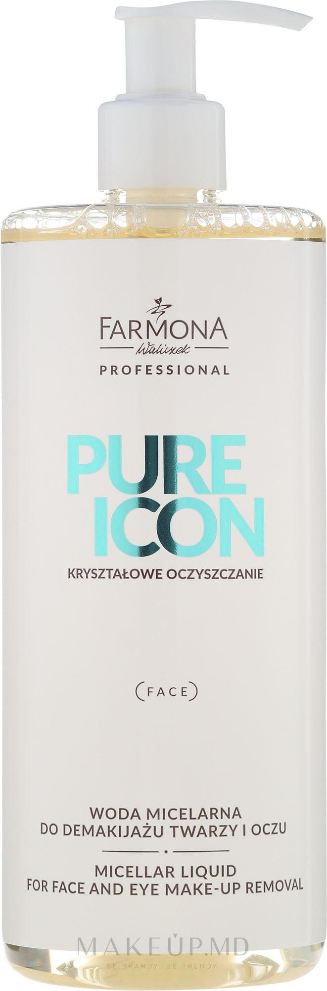 Apă micelară - Farmona Pure Icon Micellar Liquid — Imagine 500 ml