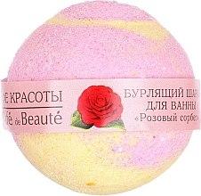 """Parfumuri și produse cosmetice Bilă efervescentă pentru baie """"Sorbet Roz"""" - Le Cafe de Beaute Bubble Ball Bath"""