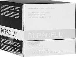 Parfumuri și produse cosmetice Ser facial pentru ten combinat - Klapp Repacell Extra Antiage Liquid Serum Combo