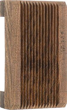 "Suport din lemn pentru săpun ""Natural"", maro închis - Organique — Imagine N1"