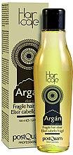 Parfumuri și produse cosmetice Loțiune pentru păr fin - PostQuam Argan Fragile Hair Elixir