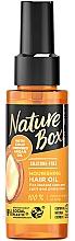 Parfumuri și produse cosmetice Ulei nutritiv pentru păr - Nature Box Argan Oil Nourishing Hair Oil
