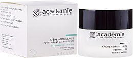 Parfumuri și produse cosmetice Cremă normalizatoare pentru pielea grasă - Academie Normalizing Cream Purifying and Matifying Care