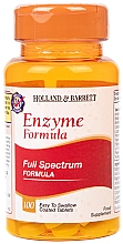 "Parfumuri și produse cosmetice Supliment alimentar ""Formula completă a enzimelor digestive"" - Holland & Barrett Enzyme Formula"