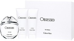 Parfumuri și produse cosmetice Calvin Klein Obsessed For Women - Set (edp/100ml + b/lot/100ml + sh/gel/100ml)
