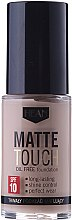 Parfumuri și produse cosmetice Fond de ten matifiant - Hean Matte Touch Oil Free SPF10