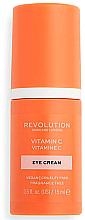 Parfumuri și produse cosmetice Cremă cu vitamina C pentru ochi - Revolution Skincare Vitamin C Eye Cream
