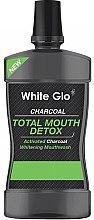Parfumuri și produse cosmetice Agent de clătire pentru cavitatea bucală - White Glo Charcoal Total Mouth Detox Mouthwash