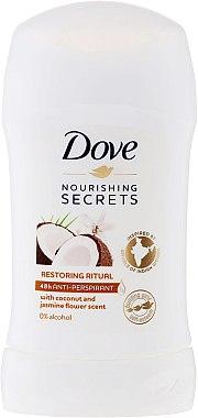 "Deodorant-stick ""Cocos și iasomie"" - Dove Nourishing Secrets Restoring Ritual Deodorant"