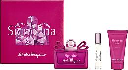Parfumuri și produse cosmetice Salvatore Ferragamo Signorina Ribelle - Set (edp/100ml +edp/10ml+ b/lot/50ml)