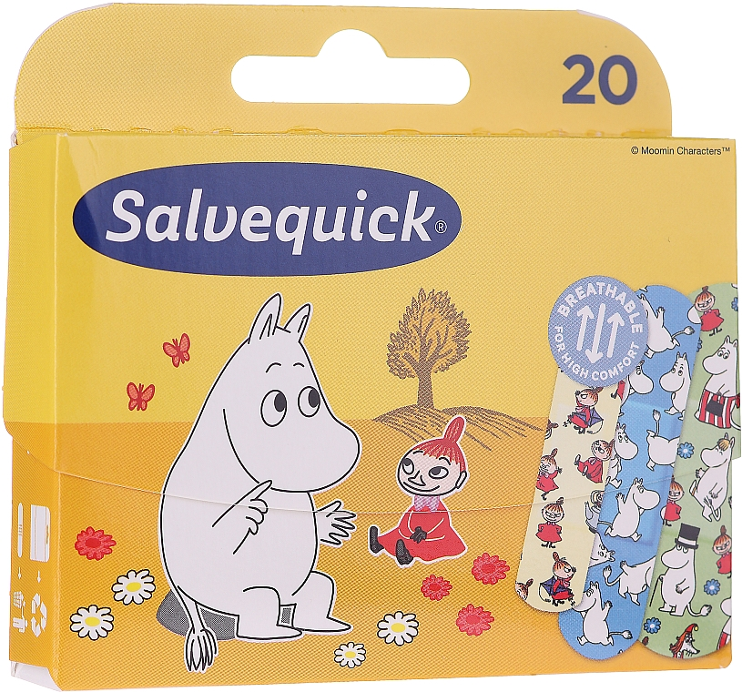 Plasture pentru copii - Salvequick Moominki