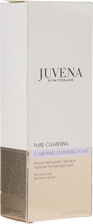 Spumă de curățare pentru față - Juvena Pure Cleansing Clarifying Cleansing Foam — Imagine N2