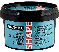 Духи, Парфюмерия, косметика Антицеллюлитный глиняный скраб для тела - Beauty Jar Shape Anti-Cellulite Clay Scrub