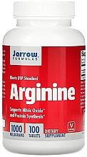 "Parfumuri și produse cosmetice Aditivi alimentari ""Arginina"" - Jarrow Formulas Arginine 1000mg"