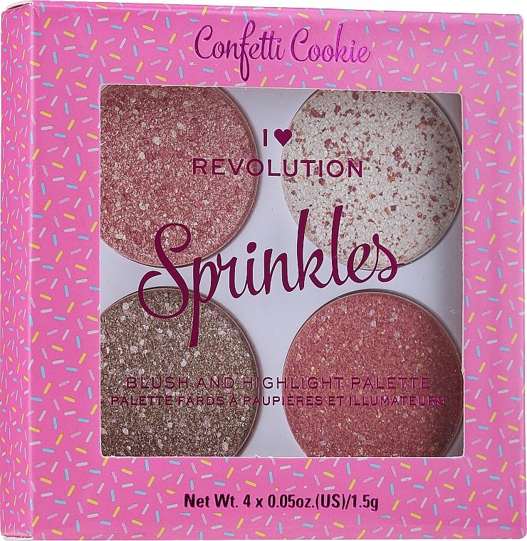 Fard de obraz - I Heart Revolution Sprinkles
