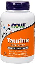 "Parfumuri și produse cosmetice Aminoacid ""Taurina"", pulbere - Now Foods Taurine Pure Powder"