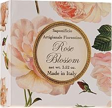 "Parfumuri și produse cosmetice Săpun natural ""Trandafir"" - Saponificio Artigianale Fiorentino Rose Blossom Soap"