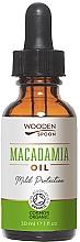 Parfumuri și produse cosmetice Ulei de macadamia - Wooden Spoon Macadamia Oil