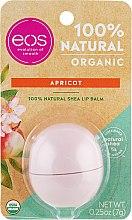 Parfumuri și produse cosmetice Balsam cu aromă de caise pentru buze - Eos 100% Natural Organic Apricot Lip Balm