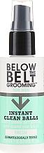 Parfumuri și produse cosmetice Spray revigorant pentru igiena intimă - Below The Belt Grooming Instant Clean Balls Fresh