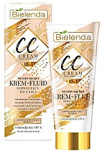 Parfumuri și produse cosmetice CC cremă-fluid pentru corp - Bielenda Magic CC 10in1 Body Correction Cream Waterproof Tanning Effect SPF6