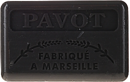 "Parfumuri și produse cosmetice Săpun Marsilia ""Mac"" - Foufour Savonnette Marseillaise Pavot"