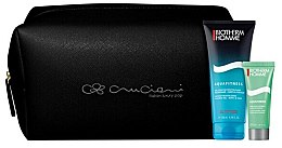Parfumuri și produse cosmetice Set - Biotherm Homme Set (gel/shmp/75ml + cr/20ml + bag)