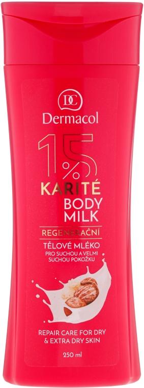 Lapte de corp pentru pielea uscată - Dermacol Regenerating Body Milk — Imagine N1