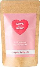 """Parfumuri și produse cosmetice Scrub de corp cu cafea """"Căpșuni suculente"""" - Love Your Body Peeling"""