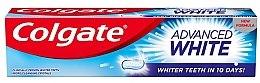 """Parfumuri și produse cosmetice Pastă de dinți """"Dinți albi în 10 zile!"""" - Colgate Advanced White"""