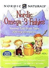 "Parfumuri și produse cosmetice Supliment alimentar pentru copii ""Omega 3"", 300 mg - Nordic Naturals Fishies Yummy Tutti Frutti"